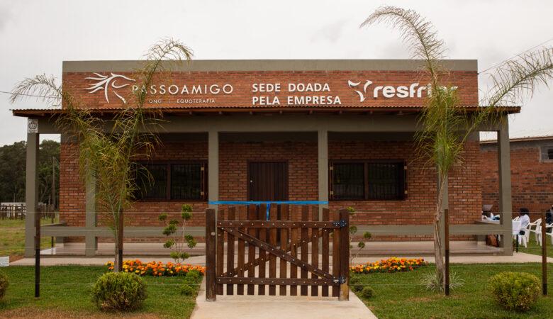 ONG Passo Amigo inaugura sede no Parque de Rodeios de Vacaria