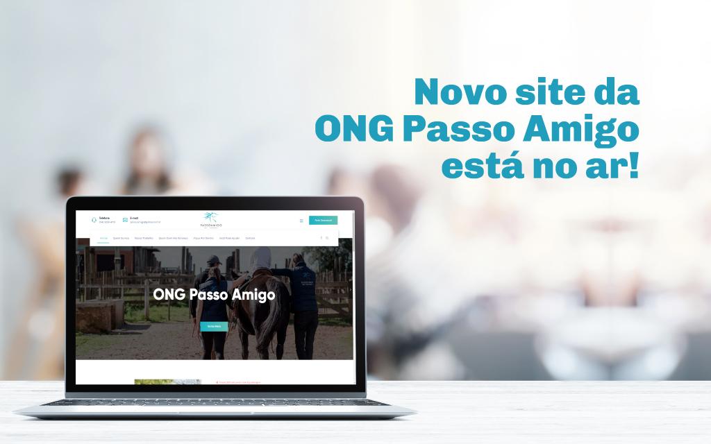 Novo site da ONG Passo Amigo está no ar!